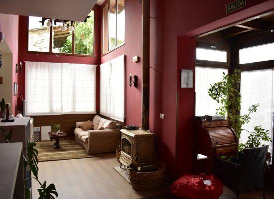 Vista general salon social - La campanona